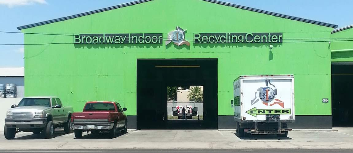 Broadyway Indoor Recycling Center Entrance